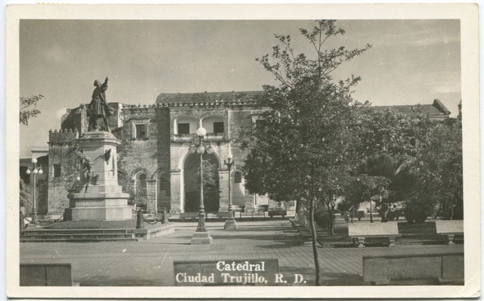 ANON Catedral Ciudad Trujillo, R.D. real photo postcard