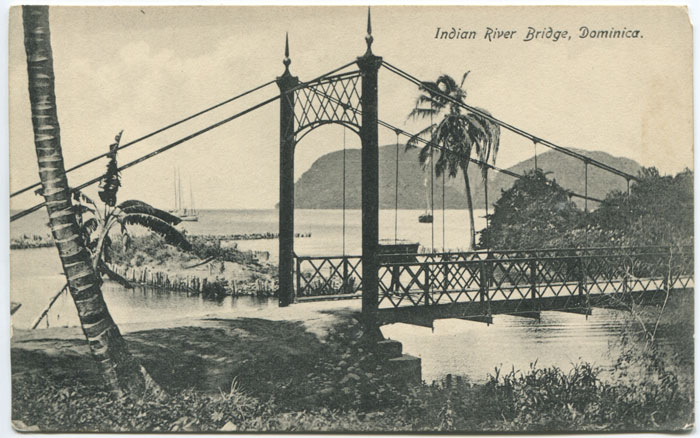 J.R.H. BRIDGEWATER Indian River Bridge, Dominica.