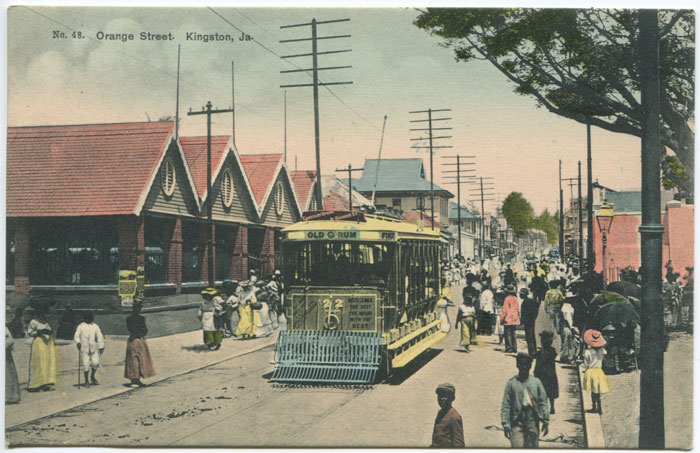 H.S. DUPERLY Orange Street, Kingston, Ja. - No 48.