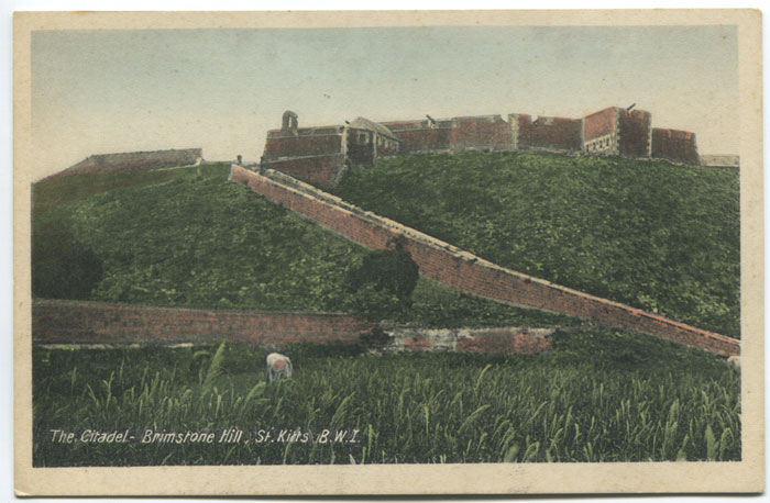 V.E. JOHN The Citadel - Brimstone Hill, St Kitts B.W.I.