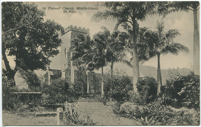 A. MOURE LOSADA St Thomas Church, Middle-island, St Kitts. - No 122a