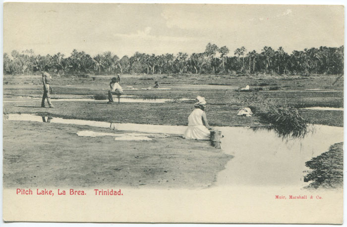 MUIR MARSHALL & CO Pitch Lake, La Brea. Trinidad.