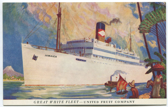 ANON Great White Fleet - United Fruit Company.