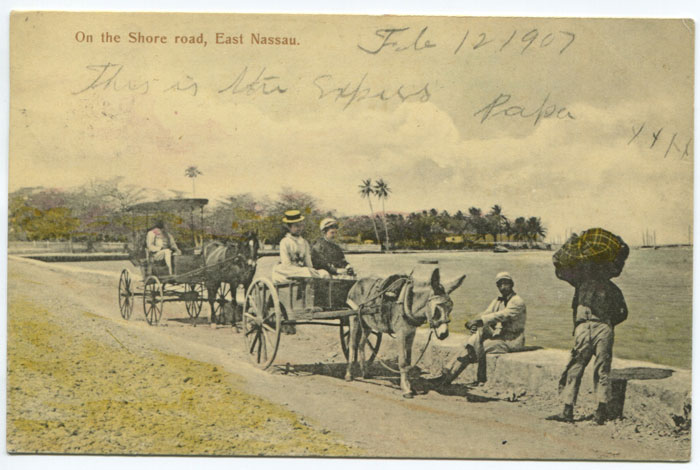 J.O. SANDS On the Shore road, East Nassau.