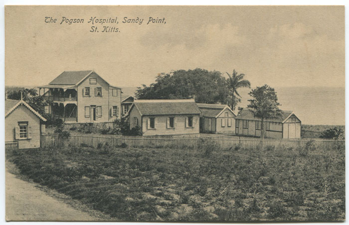 V.E. JOHN The Pogson Hospital, Sandy Point, St Kitts.