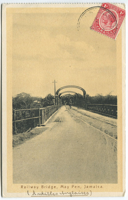 ANON Railway Bridge, May Pen, Jamaica.