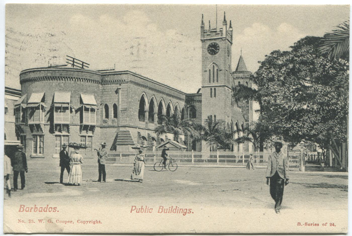 W.G. COOPER Barbados. Public Buildings. - No. 23