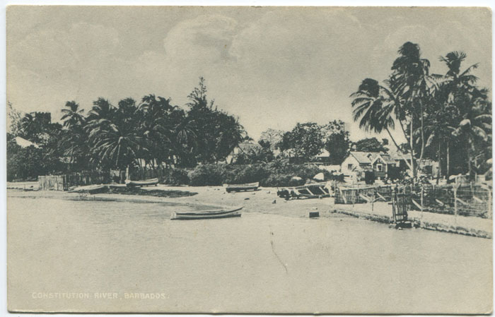 J.H. BURTON Constitution River, Barbados.