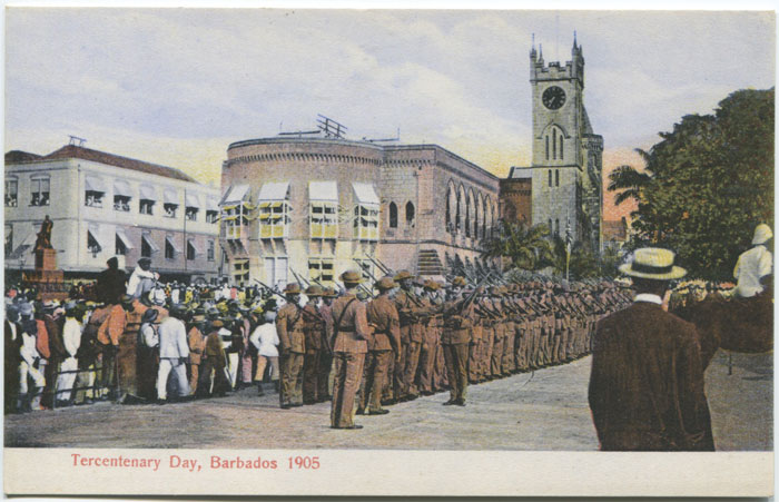 OTTO LEDER Tercentenary Day, Barbados, 1905.