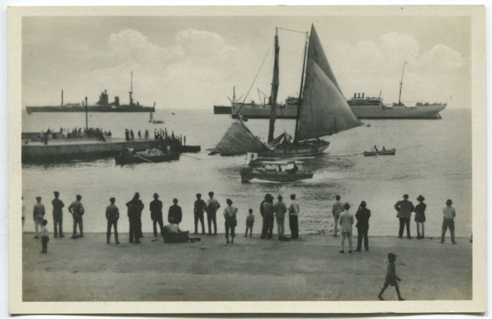 REAL PHOTOS OF BARBADOS View of docks.