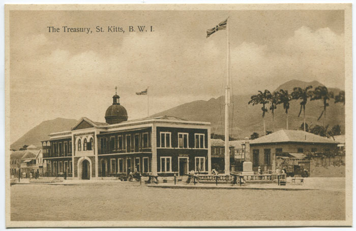 V.E. JOHN The Treasury, St Kitts, B.W.I.