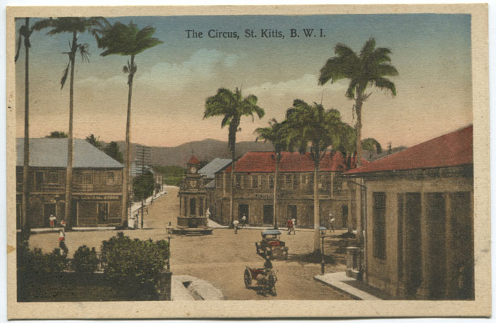 V.E. JOHN The Circus, St Kitts, B.W.I.