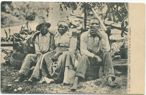 O. MILKE Quite Happy, Jamaica W.I.