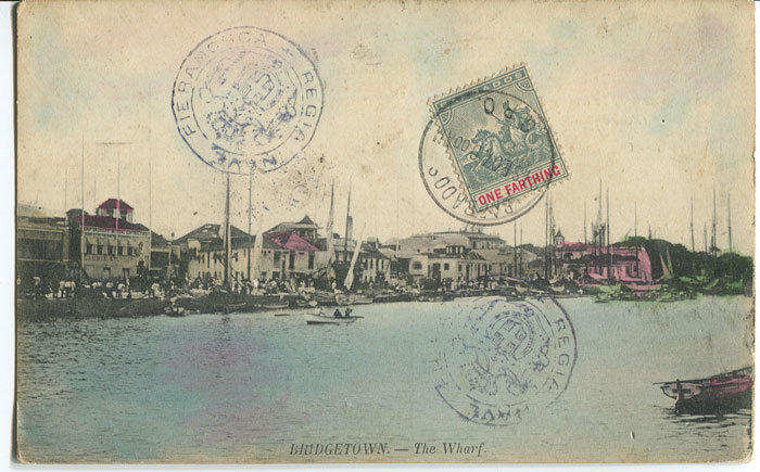 1907 postcard with �d tied by GPO cds on picture side.