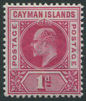 1902-3 Cayman Is. 1d (SG4), l.m.m.