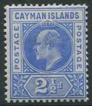 1902-3 Cayman Is. 2�d (SG5), m.m.