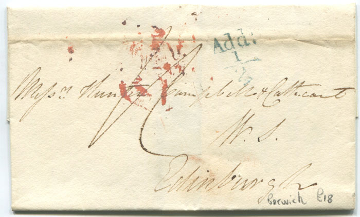 1826 (Nov) BERWICK unboxed