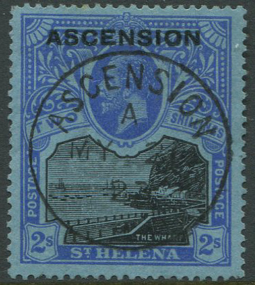 1922 Ascension 2/- (SG7), with