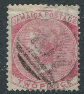 1860-70 Jamaica Pines 2d with inverted wmk (SG2w)