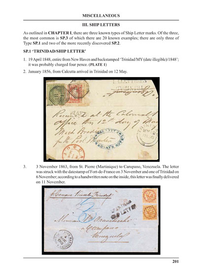 MARRIOTT Sir J. and MEDLICOTT M. & RAMKISSOON R.A. Trinidad. - A philatelic history to 1913.