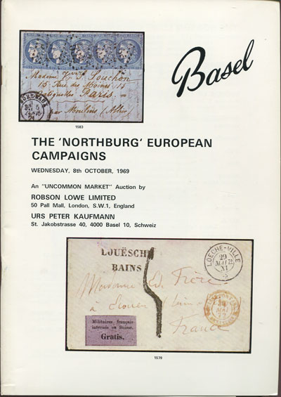 1969 (8 Oct) Northburg European campaigns.