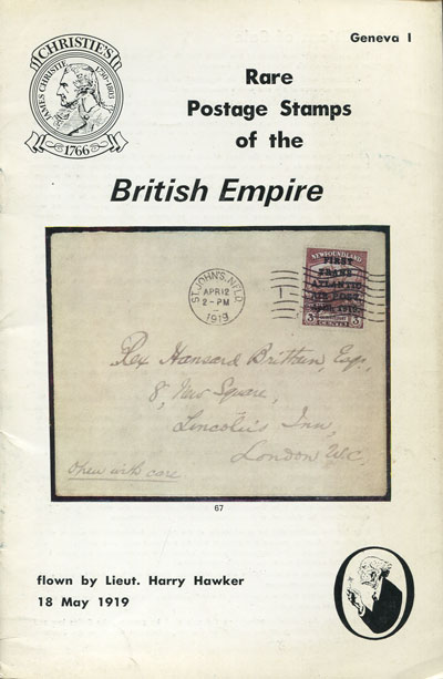 1979 (26 Apr) Rare postage stamps of the British Empire.