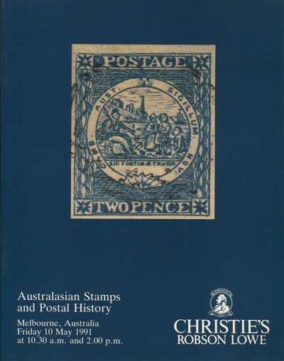 1991 (10 May) Australasian stamps and postal history.