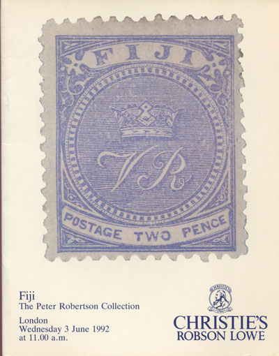 1992 (3 June) Fiji. The Peter Robertson collection.