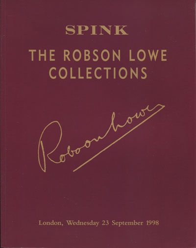 1998 (23 Sep) The Robson Lowe collections.