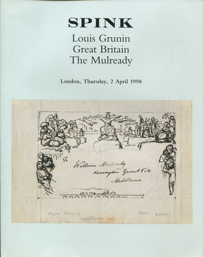 1998 (2 Apr) Louis Grunin Great Britain. The Mulready.