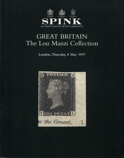 1997 (8 May) Great Britain. The Lou Manzi Collection.