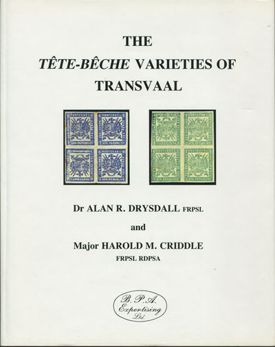 DRYSDALL Dr A.R. and CRIDDLE Maj H.M. The Tete-Beche varieties of Transvaal