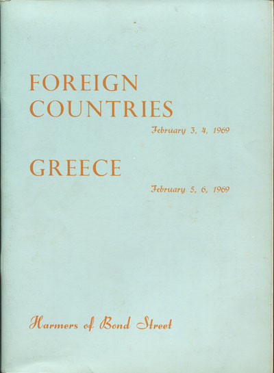 1969 (3-6 Feb) Foreign countries and Greece.