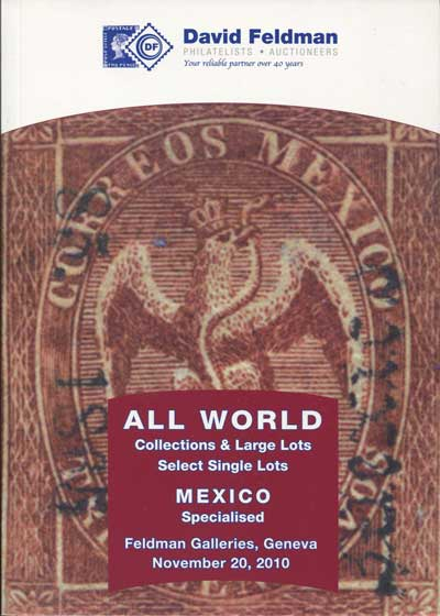 2010 (20 Nov) All World and Mexico specialised.
