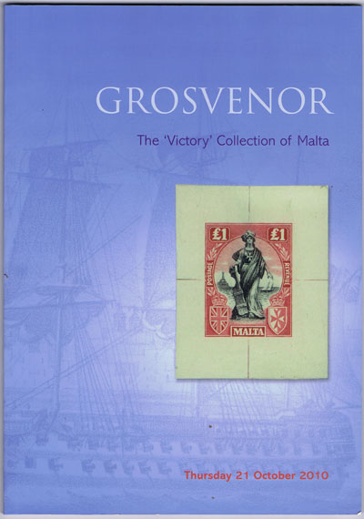 2010 (21 Oct) Victory collection of Malta