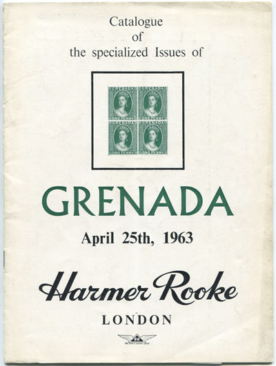 1963 (25 Apr) Specialised issues of Grenada. - (Mrs W. Taylor collection)