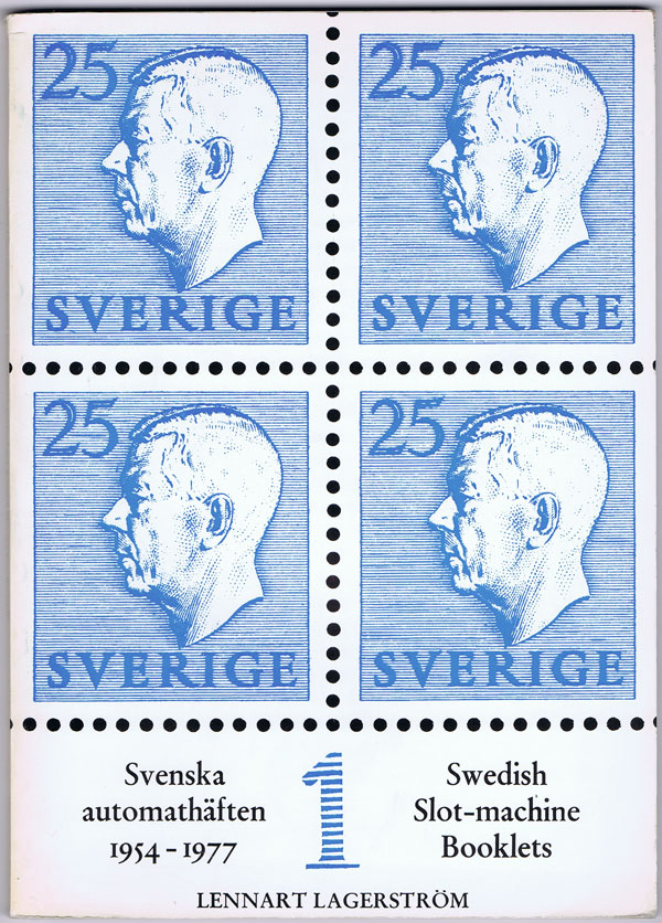 LAGERSTROM Lennart Swedish Slot-machine booklets.