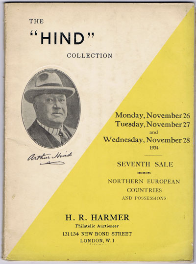 1934 (26-28 Nov) Hind Collection of Northern European countries and possessions.