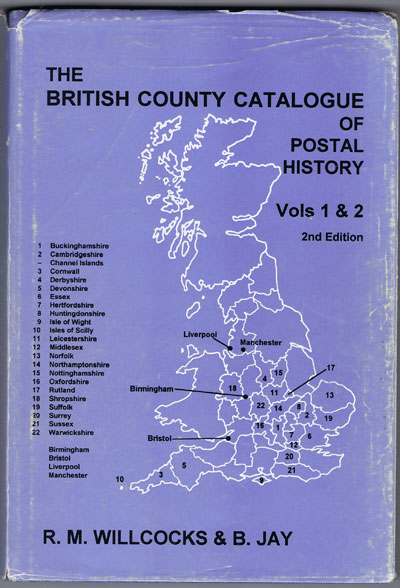 WILLCOCKS R.M. and JAY B. The British County Catalogue. - Vol. 1 & 2 - Cambridgrshire, Derbyshire, Essex, Huntingdonshire, Leicestershire, Norfolk, Nothamptonshire, Nottinghamshire, Oxfordshire, Rutland, Suffolk and Warwickshire (except Birmingham).
