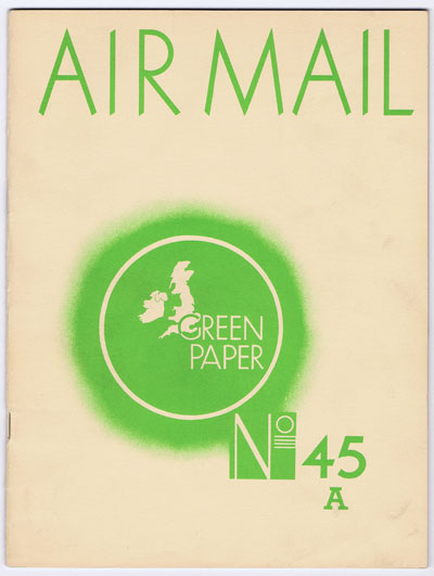LUMLEY D.O. Air Mail.