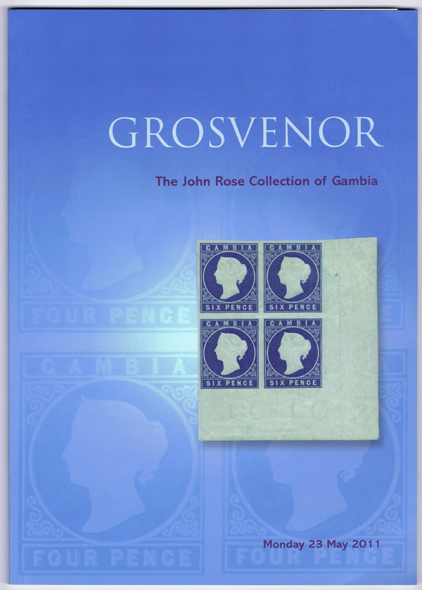2011 (23 May) John Rose Collection of Gambia.