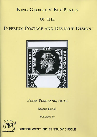FERNBANK Peter E. King George V Key Plates Of The Imperium Postage And Revenue Design.