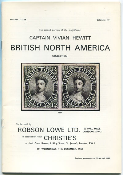 1968 (11 Dec) Captain Vivian Hewitt British North America collection.