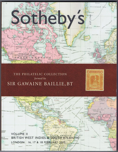 2005 (16-18 Feb) Sir Gawaine Baillie British West Indies and South Atlantic. - Vol. II