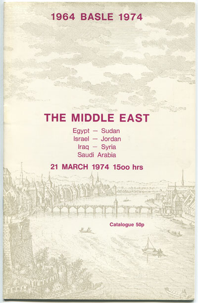 1974 (21 Mar) The Middle East.
