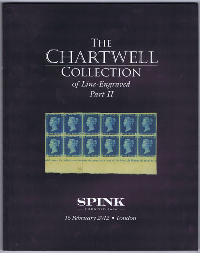 2012 (16 Feb) Chartwell collection of Line Engraved. - Part II