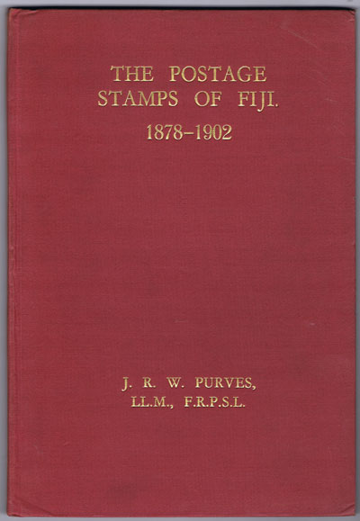 PURVES J.R.W. The postage stamps of Fiji. - 1878 - 1902.
