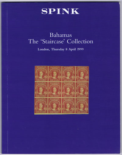 1999 (8 Apr) Bahamas. The Staircase collection.