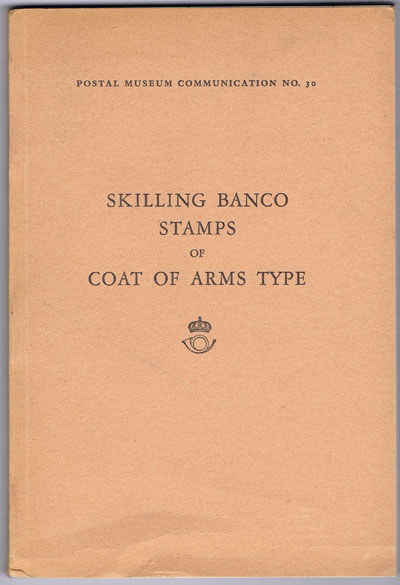 OLSSON Hugo and HALLAR Eric Skilling Banco stamps of Coat of Arms type.