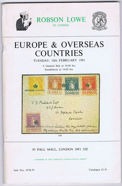 1981 (10 Feb) Europe and Overseas Countries.